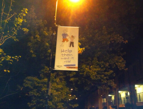 How Lamppost Banners Can Help You Find Foster & Adoptive Parents